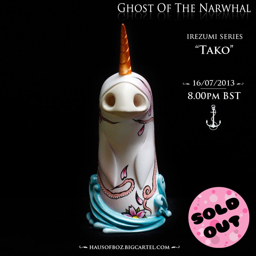 Image of Ghost Of The Narwhal - Tako