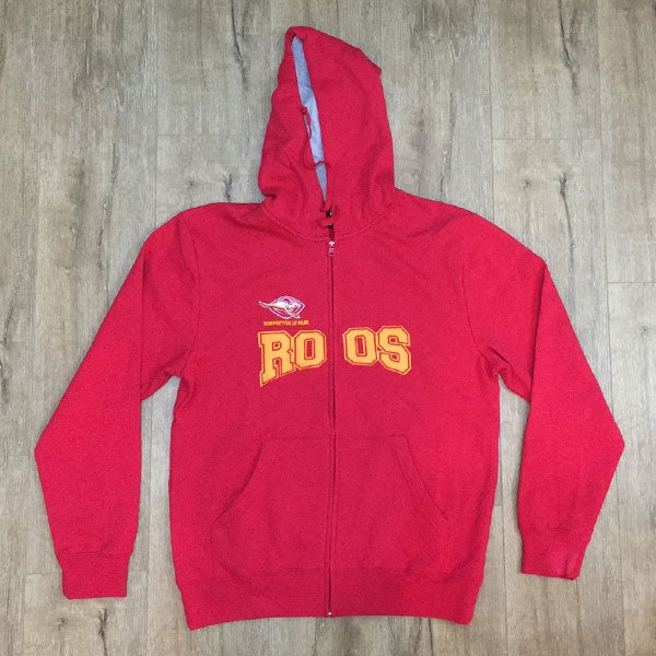 Image of Club Zip Up Hoodie - Red