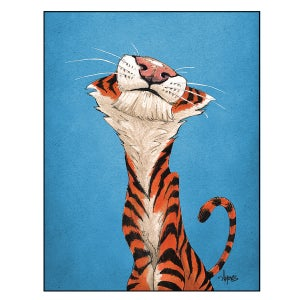 """Image of """"Content Kitty"""" Print"""