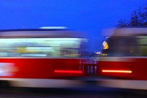 Image of Tram Kissed