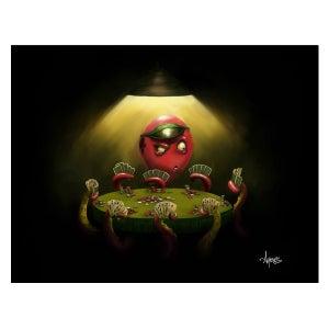 "Image of ""Octopus Poker"" Print"