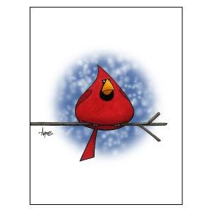 """Image of """"Drop of Cardinal"""" Print"""