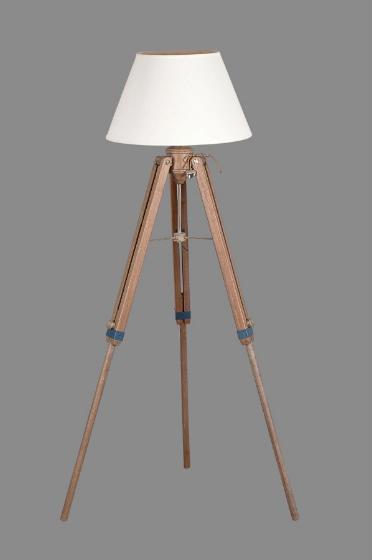 Image of Piantana cavalletto in legno