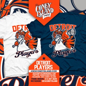 Image of Detroit players - white Tshirt