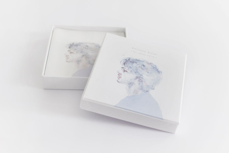 Image of music box set + Original Painting (small piece 01)