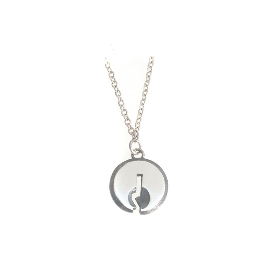 Image of keyhole necklace