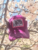 Image of Alaska Love Trucker Hat- Velvet