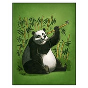 "Image of ""Encounter"" Panda Print"