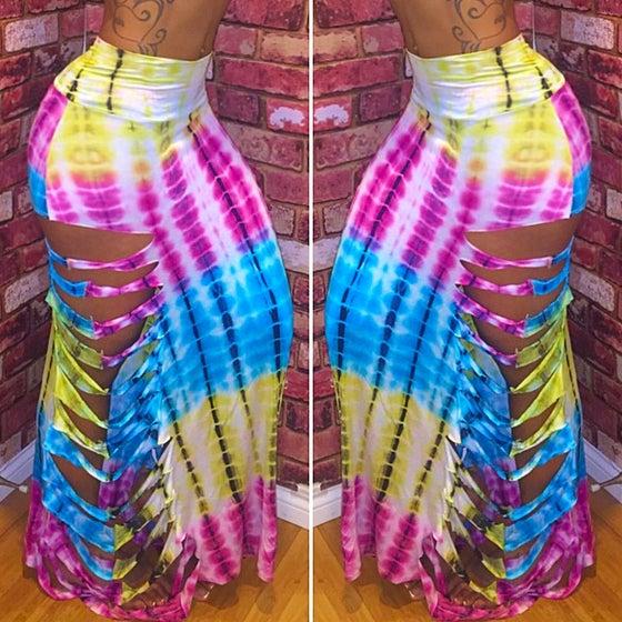 Image of Strawberry Daiquiri Maxi Skirt