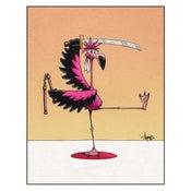 "Image of ""Flamingo Fu"" Print"