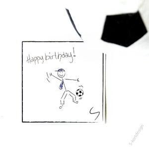 Image of Bursdagskort gutt