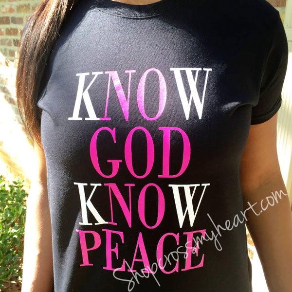 Image of Know God Tee