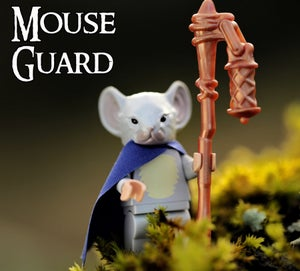 Image of PRE ORDER! Kenzie - MOUSE GUARD Custom Minifigure