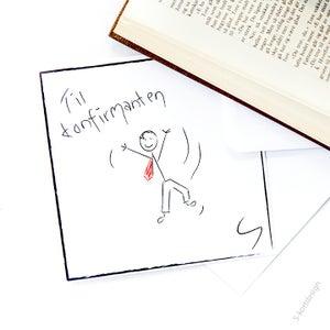 Image of Konfirmasjonskort gutt 1