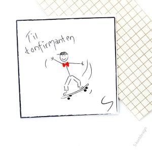 Image of Konfirmasjonskort gutt 2