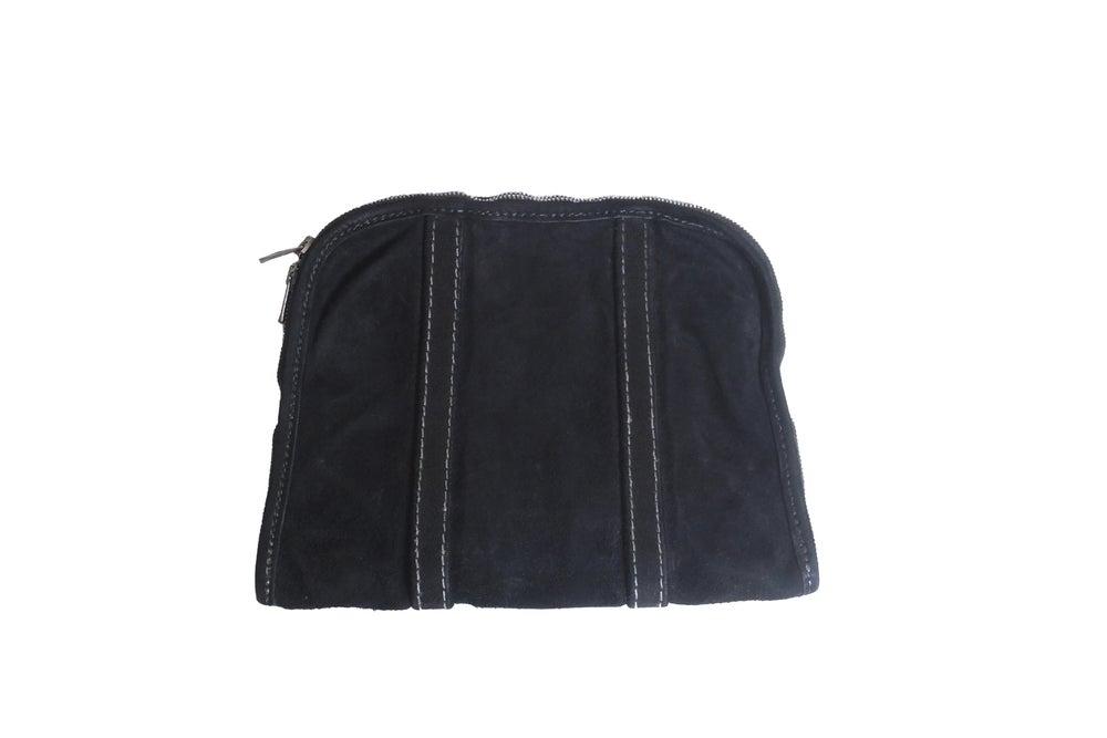 Image of Guidi Reverse Horse Leather Clutch Handbag
