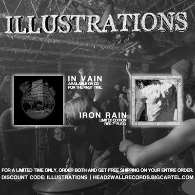 Image of Illustrations - In Vain CD