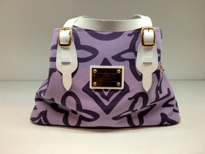 Image of Louis Vuitton Limited Edition Purple Tahitienne Cabas GM Bag