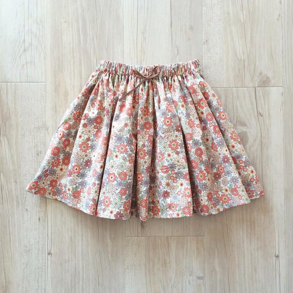 Image of Autumn Floral skirt