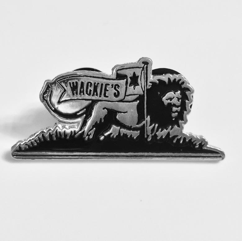 Image of Wackie's enamel pin