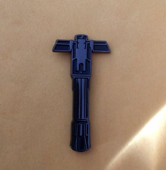 Image of Kylo saber lapel pin