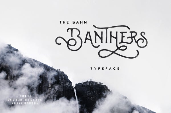 Image of Banthers Typeface