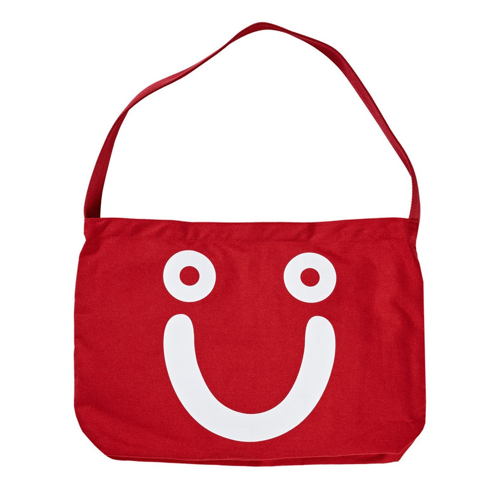 Image of POLAR HAPPY SAD TOTE RED