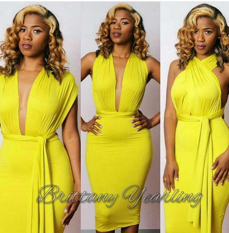 Image of Multiple Personality Dress