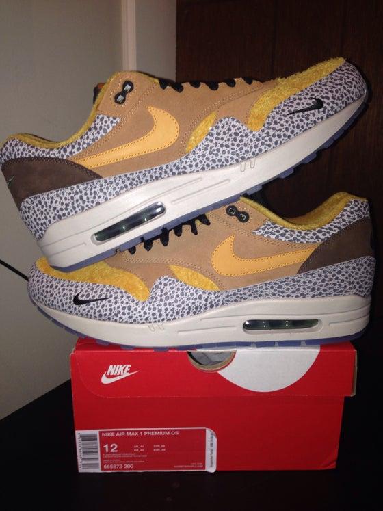 """Image of Nike Air Max 1 Premium QS """"Safari"""""""