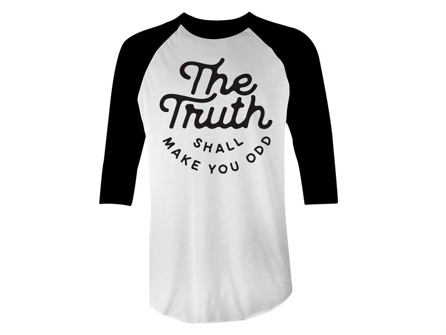 Image of Truth - Baseball T