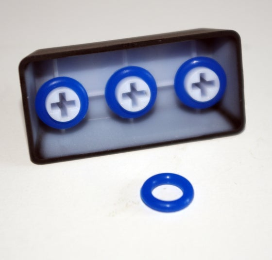 Image of Tigri Cherry Mx O-Ring Switch Dampeners (40A - Blue)