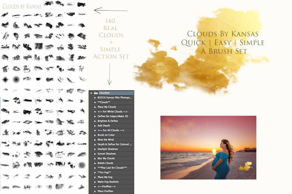 Image of Clouds by Kansas | A Gorgeous & Simple Cloud Brush Set