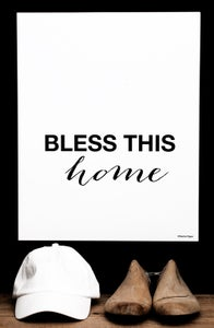 Image of Plakat: Bless This Home