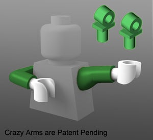 Image of Crazy Arms Straight / Elbow SET