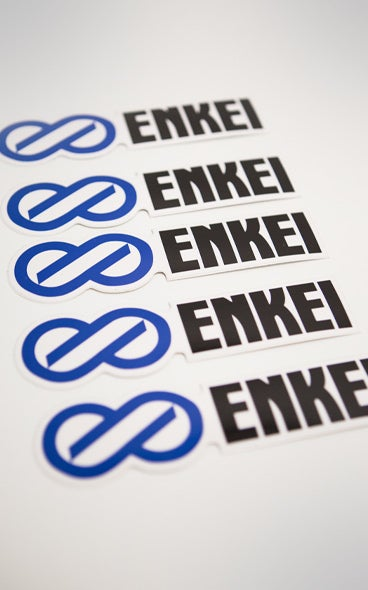 Image of Enkei Vinyl Stickers (x5)