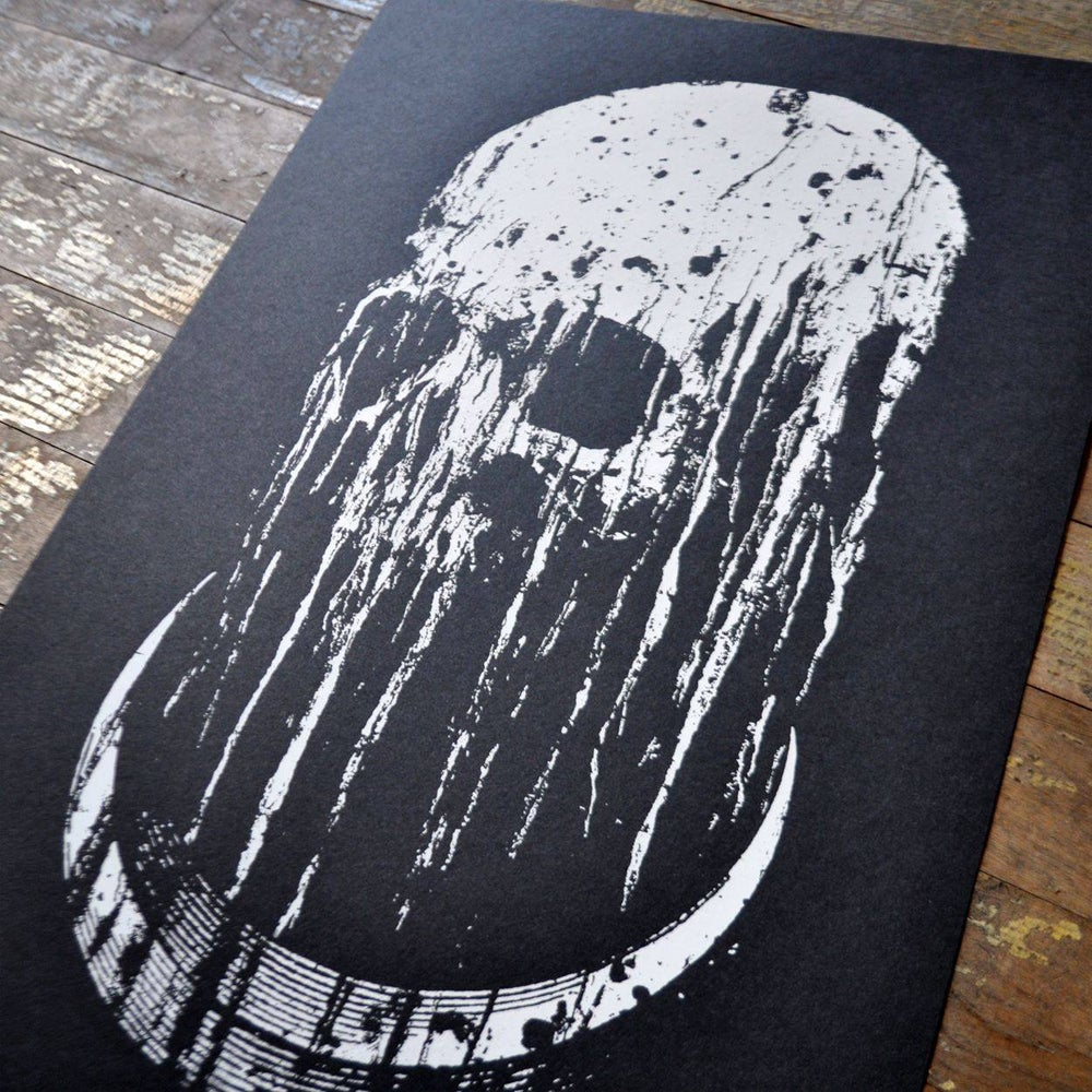 """Image of """"Decay"""" Screen Print"""