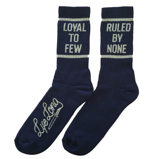 Image of LOYAL TO FEW SOCKS BLACK