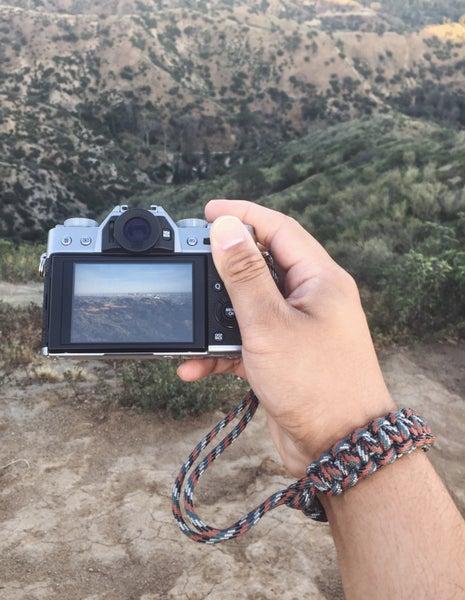 Image of Trail mix camera wrist strap