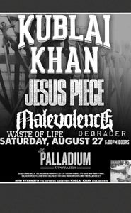 Image of ticket to saturday August 27th at the palladium in worcestor