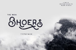 Image of Moabhoers Typeface