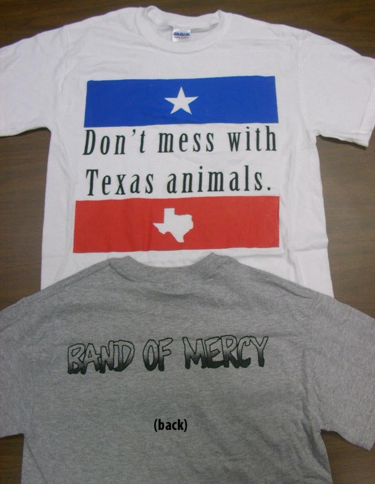"""Image of """"Don't Mess With Texas Animals"""" T-shirt"""