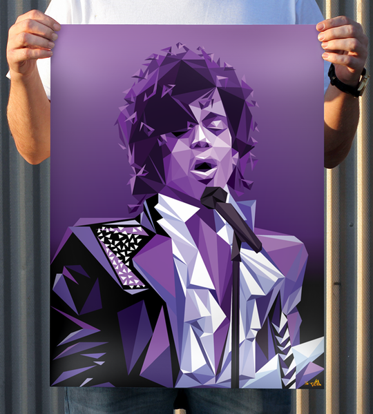 Image of JCRo - Purple Rain print