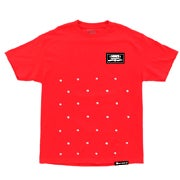 Image of Boogie Dot 3/4 Tee - Red