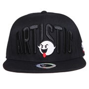 Image of Artistic Fisheye Snapback - Black
