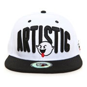 Image of Artistic Fisheye Snapback - White