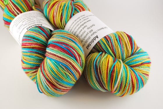 Image of Addicted - SW Merino/Nylon Fingering