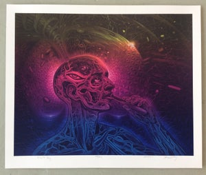 Image of Alex Grey x Mars-1 - Bicycle Day Silkscreen Poster