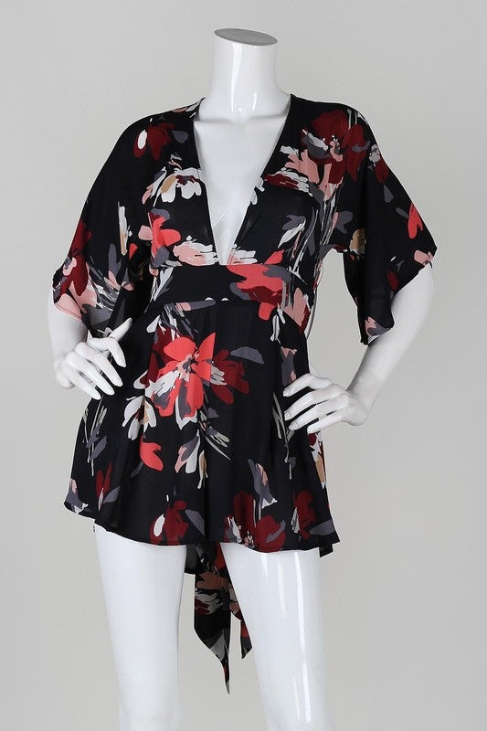Image of Kimono Lush Romper