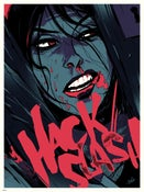 Image of HACK/SLASH 18x24 screenprint