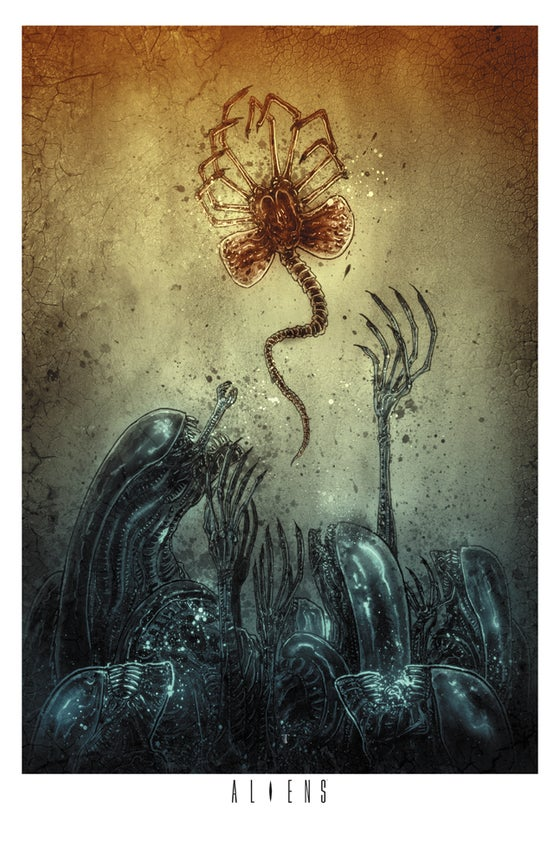 Image of ALIENS OFFICIAL PRINT